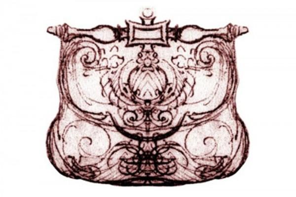 leonardo davinci handbag sketch