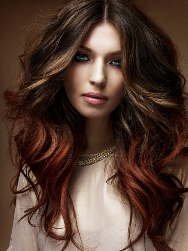 ombre hair colors 2012