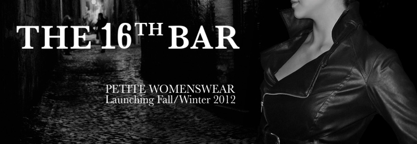 The 16th Bar Facebook Cover Launching Fall/Winter 2012