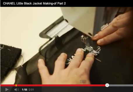 Chanel Making of the little black jacket