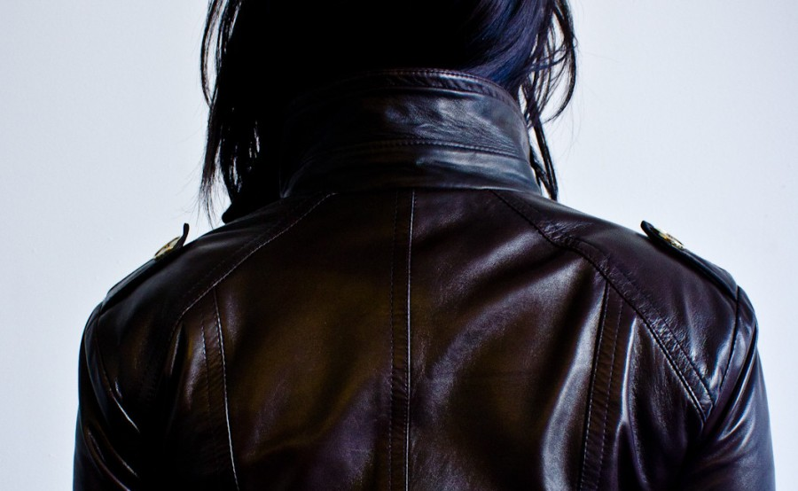 petite leather jacket back the 16th bar