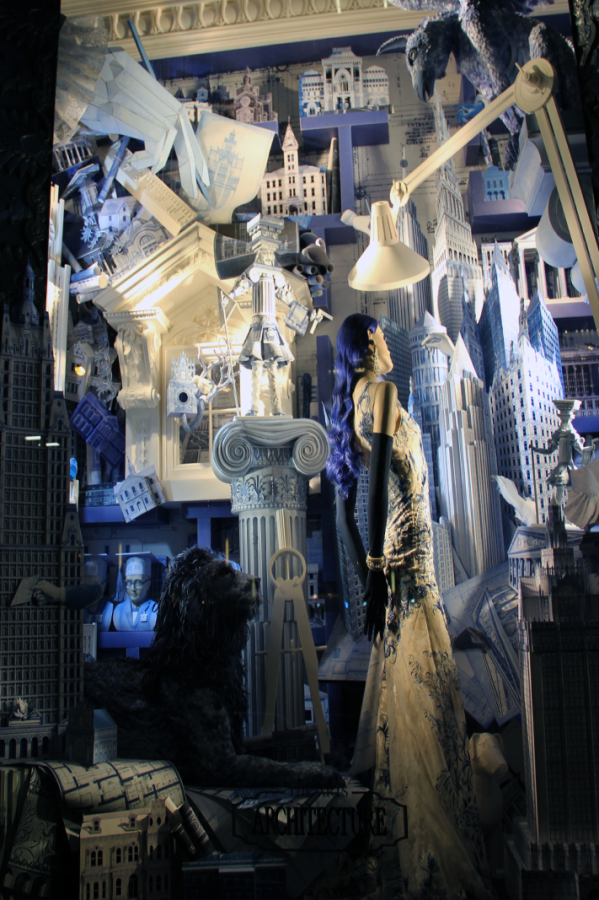 BERGDORF GOODMAN HOLIDAY 2014 WINDOW UNVEILING